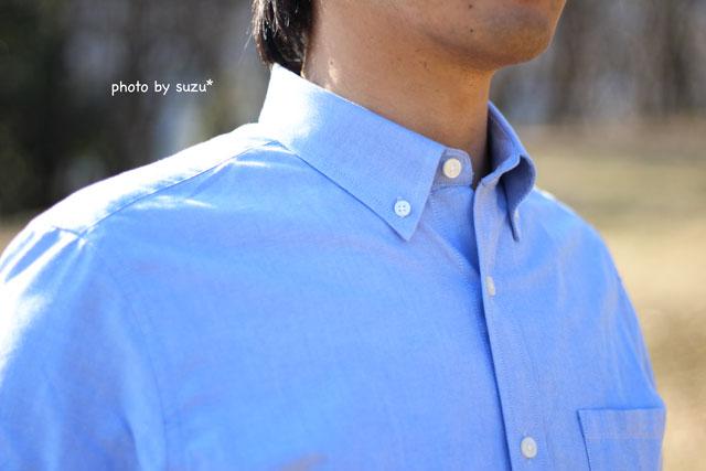 中のシャツ